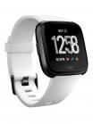 Fitbit Versa (NFC) - White Band / Black Case
