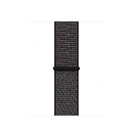 Apple Watch 40mm Nike Band: Black Nike Sport Loop