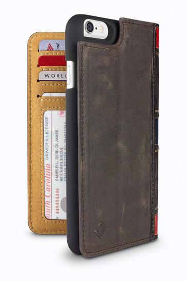 TwelveSouth BookBook for iPhone 6/6s - vintage brown