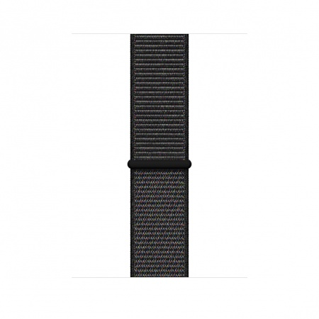 Apple Watch 44mm Band: Black Sport Loop - Regular (DEMO)