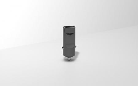 Tribe DC Movie Batman USB Car Charger - Black