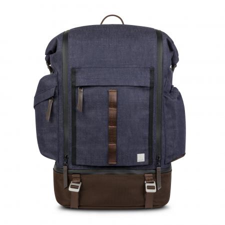 Moshi Captus Rolltop Backpack 45L - Denim Blue