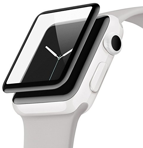 Belkin Ultra Curve Screen Protector for Apple Watch 42mm Series 2/3 with installation frame
