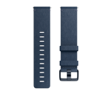 Fitbit Versa Accessory Band Leather Midnight Blue - Small