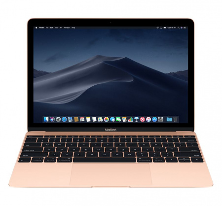 "MacBook 12"" Retina/DC M3 1.2GHz/8GB/256GB/Intel HD G 615 - Gold - BUL KB"