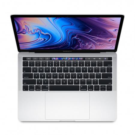 """MacBook Pro 13"""" Touch Bar/QC i5 1.4GHz/8GB/128GB SSD/Intel Iris Plus Graphics 645/Silver - INT KB"""