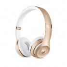 Beats Solo3 bezdrátové náhlavní sluchátka - Gold