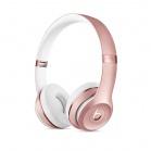 Beats Solo3 bezdrátové náhlavní sluchátka - Rose Gold