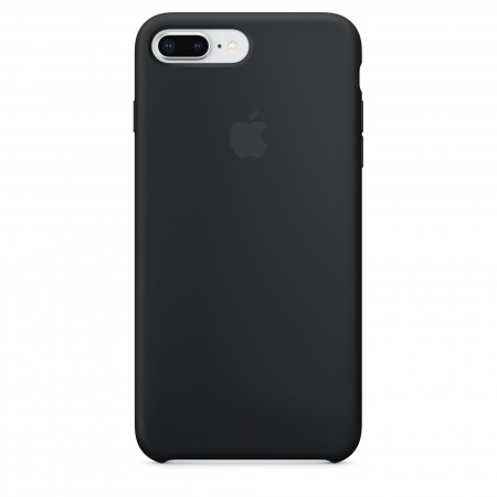 Apple iPhone 8 Plus/7 Plus Silicone Case - Black