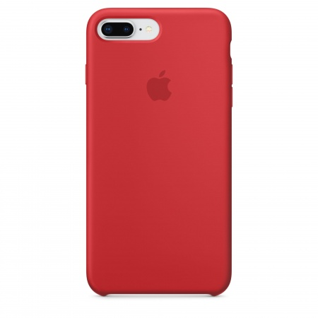 Apple iPhone 8 Plus/7 Plus Silicone Case - (PRODUCT)RED