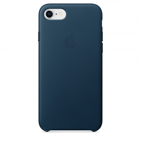 Apple iPhone 8/7 Leather Case - Cosmos Blue   (Seasonal Autumn2017)