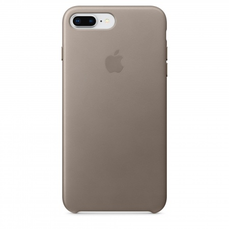 Apple iPhone 8 Plus/7 Plus Leather Case - Taupe