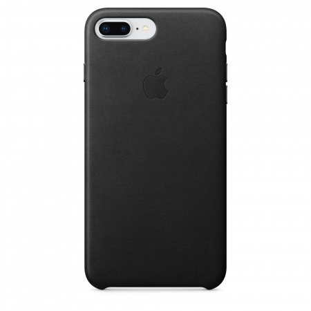 Apple iPhone 8 Plus/7 Plus Leather Case - Black