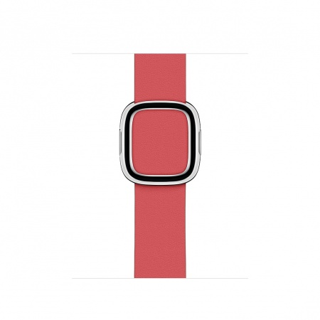 Apple Watch 40mm Band: Peony Pink Modern Buckle Band - Large