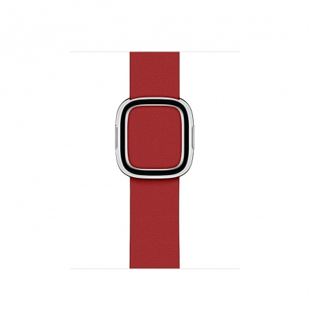Apple Watch 40mm Band: (PRODUCT)RED Modern Buckle Band - Medium
