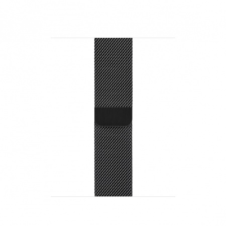 Apple Watch 40mm Band: Space Black Milanese Loop