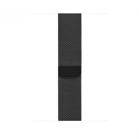 Apple Watch 44mm Band: Space Black Milanese Loop