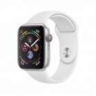 Apple Watch Series 4 GPS, 40mm Silver Aluminium Case with White Sport Band