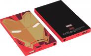 Tribe Marvel Iron Man 4000mAh Power Bank - Red